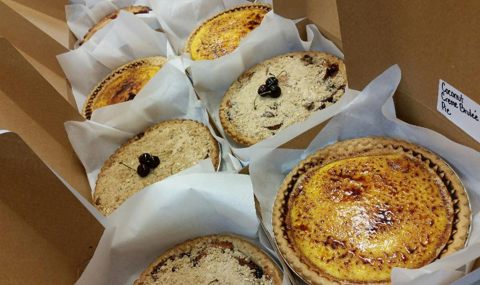 <p>Cortés Catering is bringing its new delicious homemade pies made with no preservatives and all natural ingredients for you, your family and friends. </p>